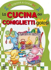 La cucina dei coniglietti golosi. Colora & gioca. Ediz. illustrata
