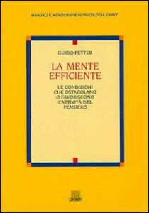 Libro La mente efficiente Guido Petter