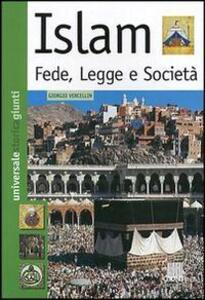 Islam. Fede, legge e società - Giorgio Vercellin - copertina
