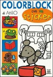 Colorblock. Con stickers