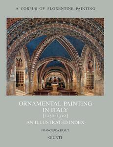 Ornamental painting in Italy (1250-1310) - Francesca Pasut - copertina