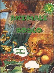 Foto Cover di Animali del bosco, Libro di  edito da Giunti Editore