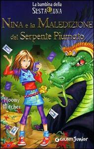 Nina e la maledizione del serpente piumato - Moony Witcher - copertina