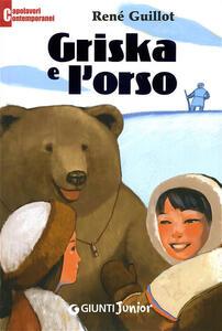 Griska e l'orso - René Guillot - copertina