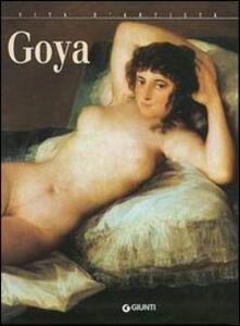 Foto Cover di Goya, Libro di Giuliano Serafini, edito da Giunti Editore