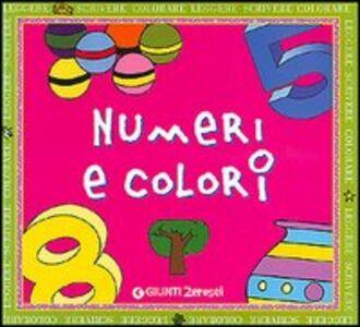 Libro Numeri e colori