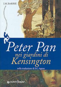 Libro Peter Pan nei giardini di Kensington James M. Barrie