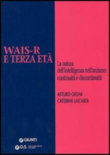 Vitalitart.it WAIS-R e terza età. La natura dell'intelligenza nell'anziano: continuità e discontinuità Image