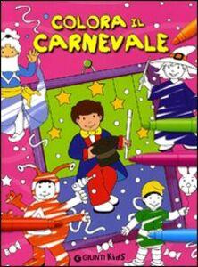 Libro Colora il carnevale