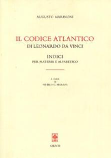 Listadelpopolo.it Il Codice Atlantico di Leonardo da Vinci: indice per materie e alfabetico Image