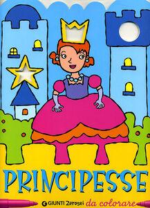 Libro Principesse da colorare