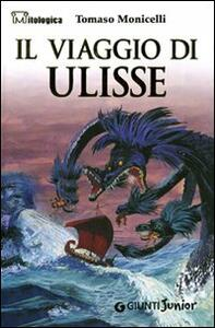 Il viaggio di Ulisse - Tomaso Monicelli - copertina