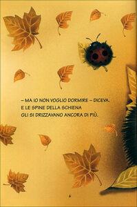 Foto Cover di Piccolo Riccio non vuole dormire, Libro di Maria Loretta Giraldo, edito da Giunti Junior 1