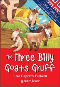 The three billy goats gruff-I tre capretti furbetti - copertina
