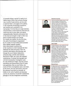 Leonardo's Machines. Secrets and Inventions in the Da Vinci Codices - Mario Taddei,Edoardo Zanon,Domenico Laurenza - 7