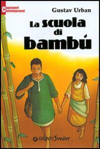 La scuola di bambù - Gustav Urban - copertina