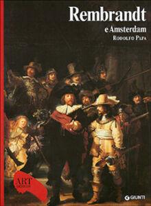 Foto Cover di Rembrandt e Amsterdam, Libro di Rodolfo Papa, edito da Giunti Editore