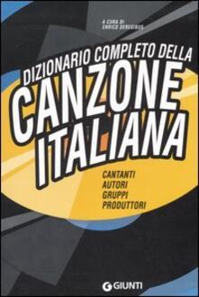 Premioquesti.it Dizionario completo della canzone italiana Image
