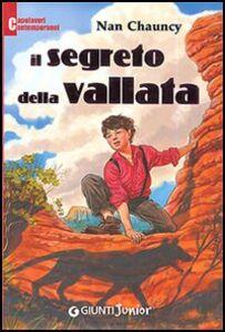 Foto Cover di Il segreto della vallata, Libro di Nan Chauncy, edito da Giunti Junior