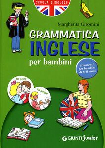 Grammatica inglese per bambini 2006 - Margherita Giromini - copertina