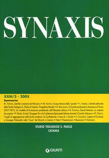 Squillogame.it Quaderni di Synaxis. Vol. 3\5 Image