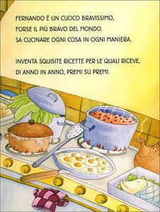 Libro Cuoco Fernando. Ediz. illustrata Silvia Vecchini 3