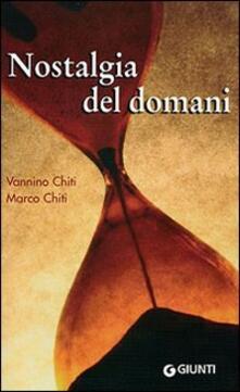 Nostalgia del domani. Un diario a due voci.pdf