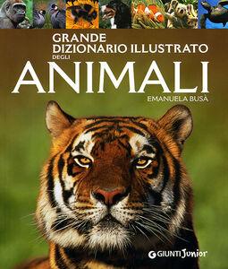 Libro Grande dizionario illustrato degli animali Emanuela Busà 0