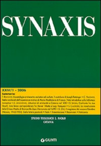 Libro Quaderni di Synaxis. Vol. 24\1