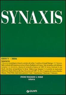 Winniearcher.com Quaderni di Synaxis. Vol. 24\1 Image