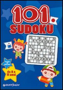 Libro Centouno Sudoku. 5 gradi di difficoltà