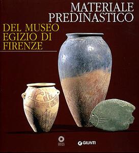 Materiale predinastico del Museo egizio di Firenze - copertina