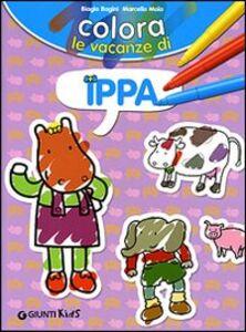 Colora le vacanze di Ippa