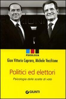 Lpgcsostenible.es Politici e elettori. Psicologia delle scelte di voto Image