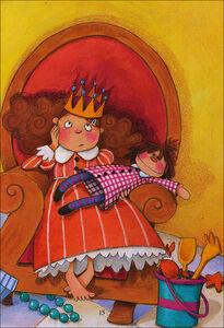 Libro La principessa Sabbiadoro Barbara Pumhösel 1