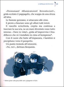 Libro Il vascello fantasma Alain Surget 1