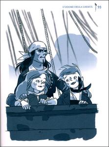 Libro Il vascello fantasma Alain Surget 2