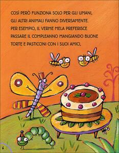 Buon compleanno con il Verme Mela. Ediz. illustrata - Luca Cognolato - 4