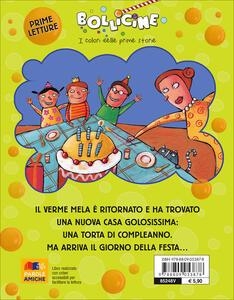 Buon compleanno con il Verme Mela. Ediz. illustrata - Luca Cognolato - 8