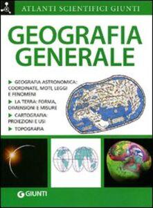Foto Cover di Geografia generale, Libro di Adriana Rigutti, edito da Giunti Editore