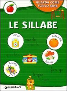 Libro Le sillabe