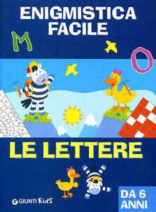 Recuperandoiltempo.it Enigmistica facile. Le lettere Image
