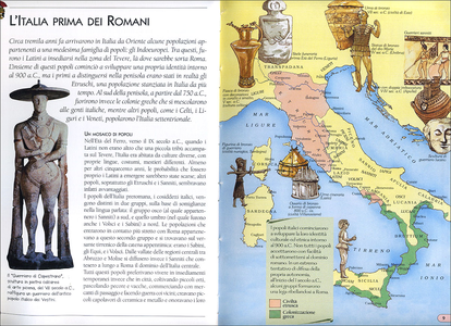 Libro Gli antichi romani Andrea Bachini 3