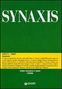 Libro Quaderni di Synaxis. Vol. 25\1