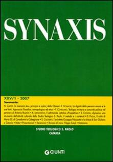 Capturtokyoedition.it Quaderni di Synaxis. Vol. 25\1 Image