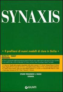 Libro Quaderni di Synaxis. Vol. 25\2