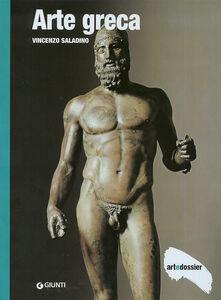 Foto Cover di Arte greca, Libro di Vincenzo Saladino, edito da Giunti Editore