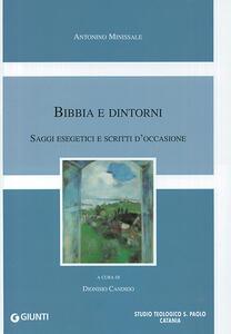 Bibbia e dintorni. Saggi esegetici e scritti d'occasione - Antonino Minissale - copertina