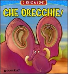 Che orecchie! - Patrizia Nencini - copertina