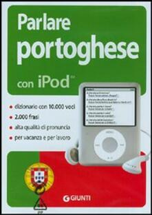 Winniearcher.com Parlare portoghese con iPod. Con CD-ROM Image